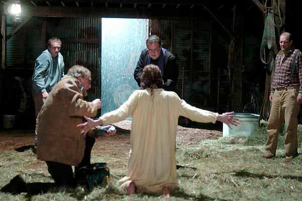 Escena de la película El exorcismo de Emily Rose