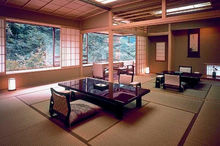 Habitación del hotel Nishiyama Onsen Keiunkan