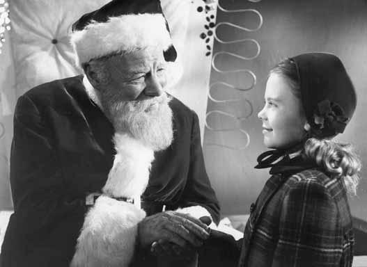 Escena de la película Miracle on 34 Street de 1947