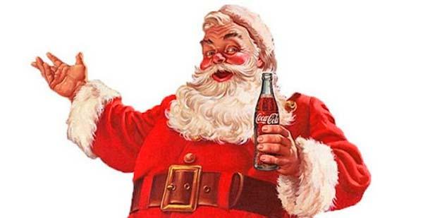 Santa Claus de Coca Cola