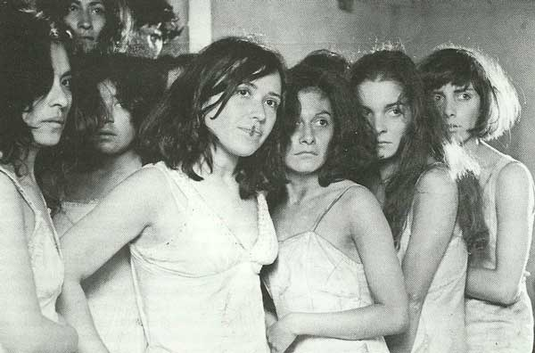 Fotografía de algunas de las mujeres secuestradas