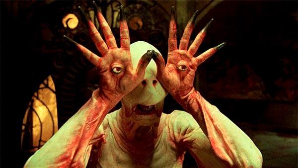 El hombre pálido de Guillermo del Toro en El laberinto del fauno
