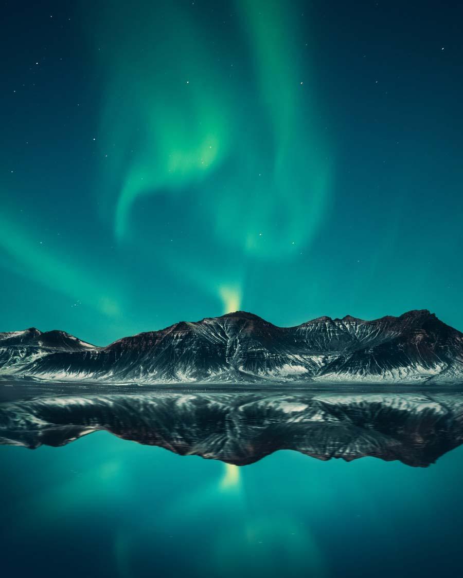 El increíble fenómeno luminiscente de la aurora boreal