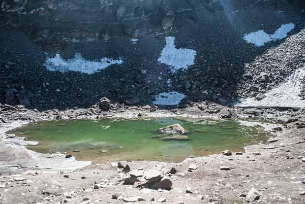 El lago Roopkund