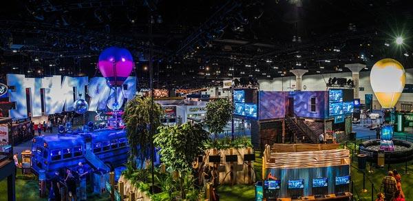 Fortnite en el evento E3 de 2018