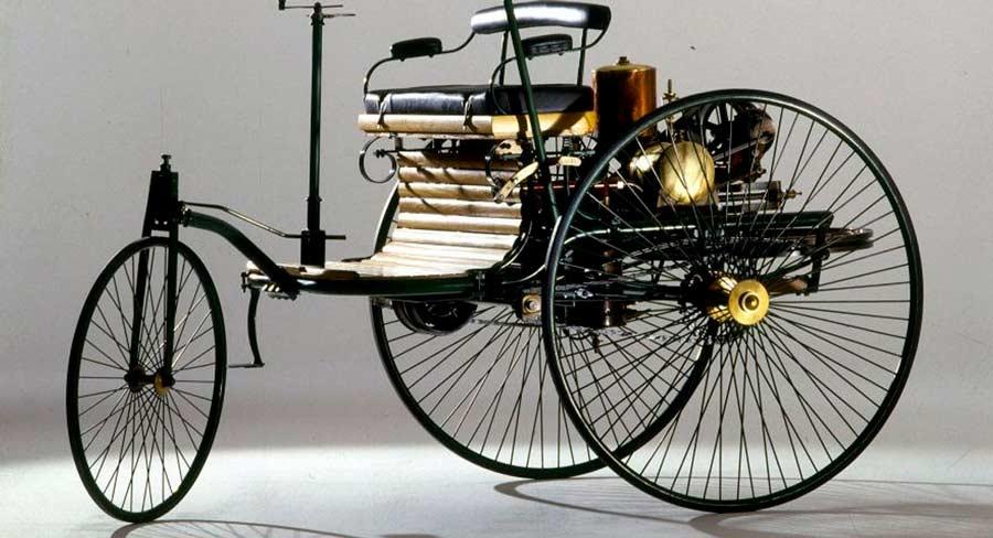 La historia y evolución del primer automóvil de Karl Benz