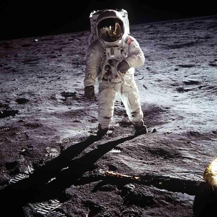 La impresionante travesía dela llegada a la Luna