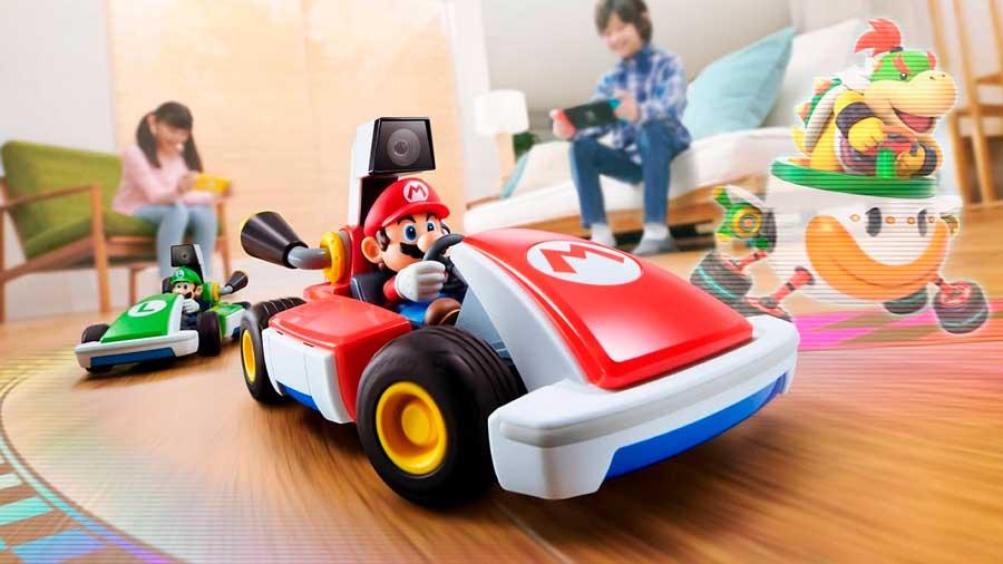 Mario Kart Live, la fusión entre mundo real y virtual