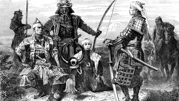 Yasuke y Nobunaga