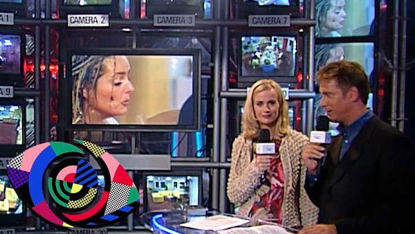 Escena en plató de la primera edición de Big Brother en 1999