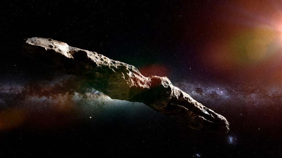 El Oumuamua, el extraño objeto que orbitó inusualmente nuestro Sistema Solar