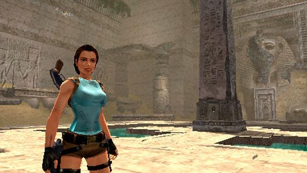 Lara Croft en Tomb Raider Anniversary, remake de Tomb Raider I