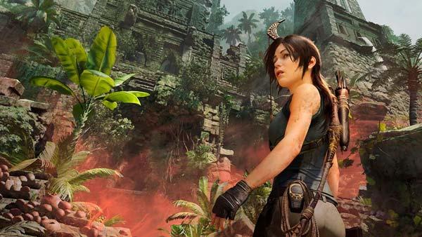 Lara Croft en Tomb Raider Shadow of the Tomb Raider