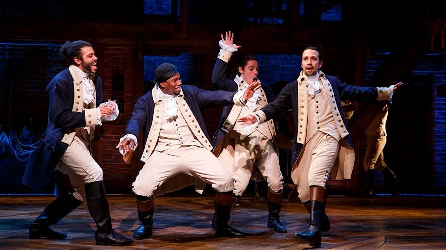 Hamilton, el musical de Broadway que triunfó también como película