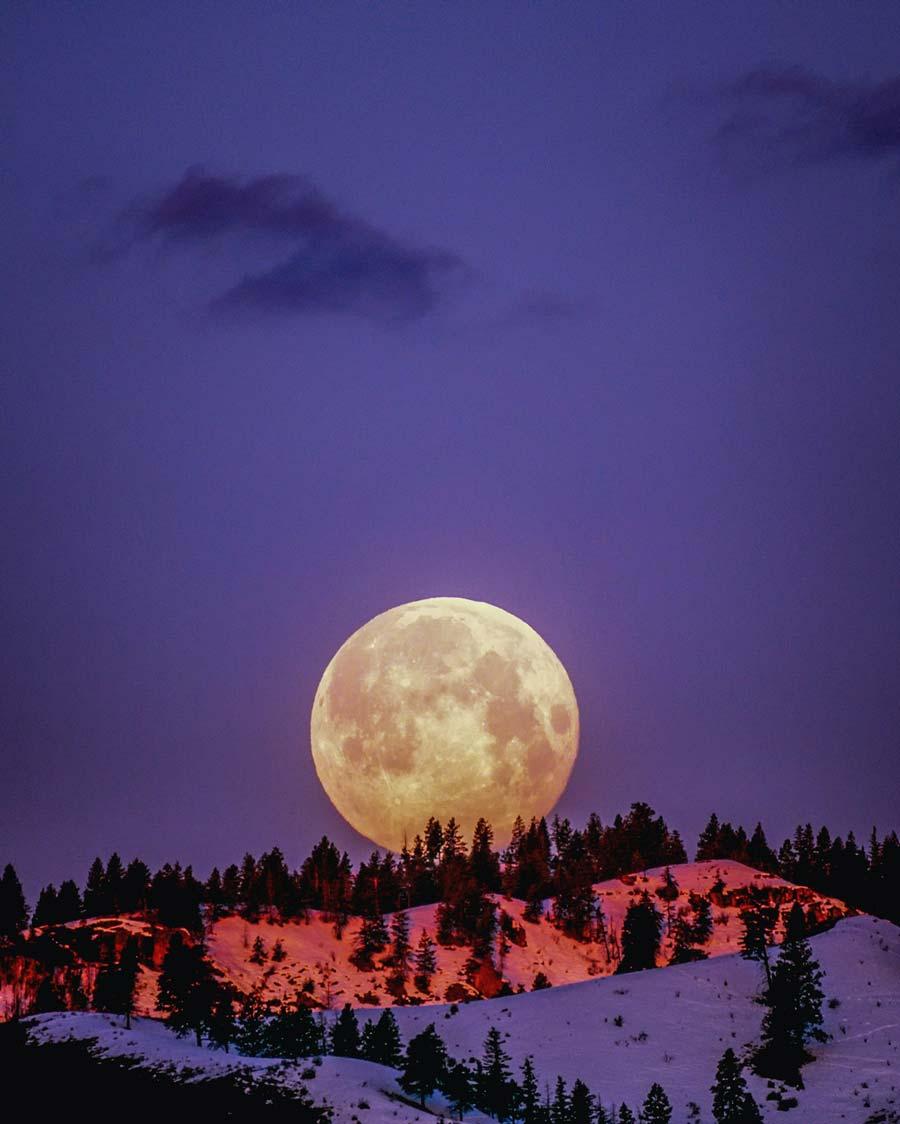 La Luna de Sangre, la Superluna, la Luna Azul y la Luna de Cosecha. Los tipos de Luna llena