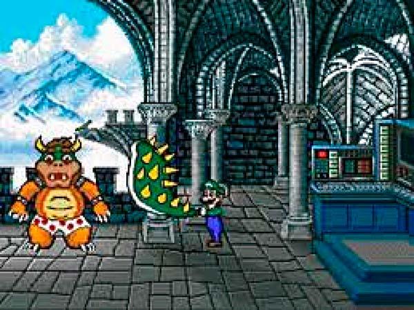 La victoria de Luigi frente a Bowser en Mario Is Missing