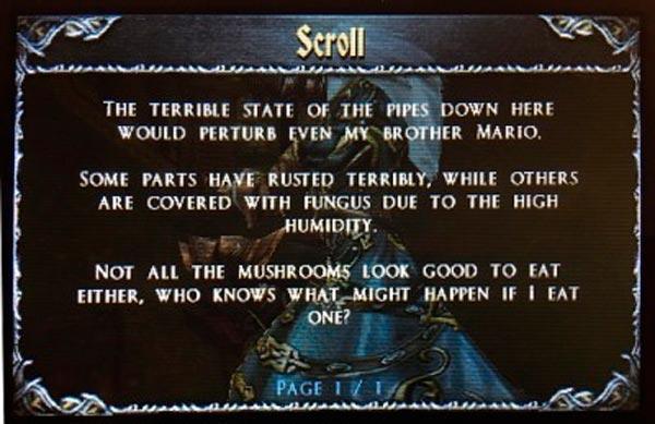 Nota descubierta en Castlevania: Lords of Shadows
