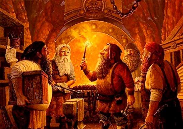 Enanos de la mitología nórdica