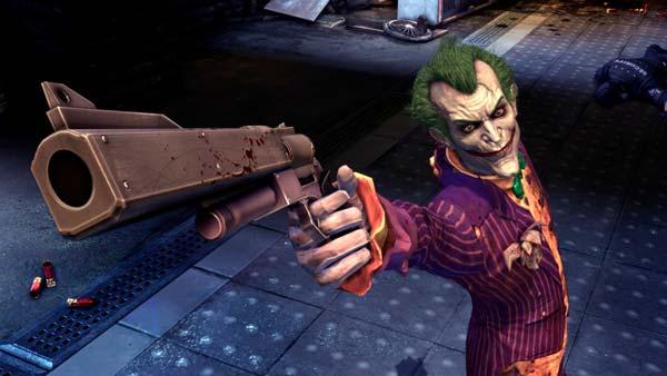 El Joker en Batman Arkham Asylum