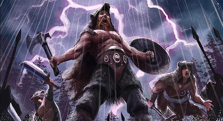 Los berserker vikingos, los guerreros de élite más feroces de la historia