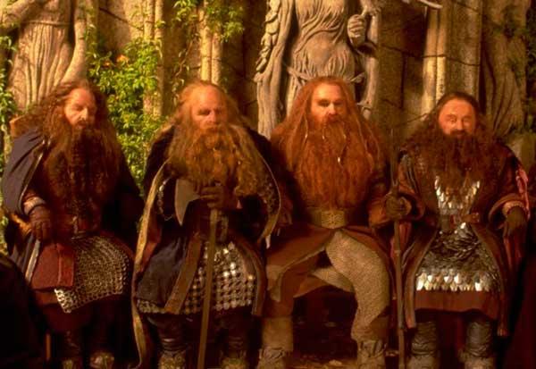 Los enanos de Tolkien