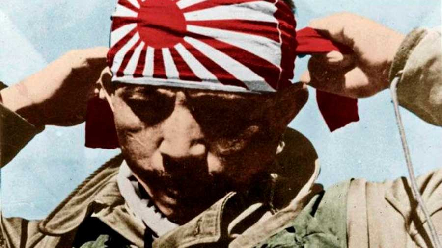 Los kamikazes japoneses de la II Guerra Mundial