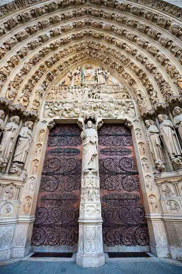 Las puertas de Notre Dame