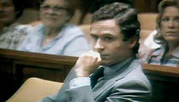 Ted Bundy en su juicio de Florida