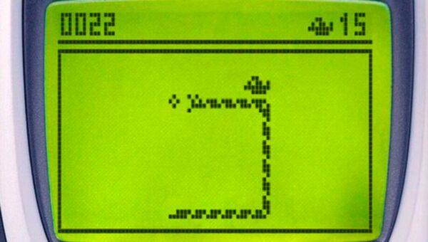 El archiconocido juego de Nokia, el Snake