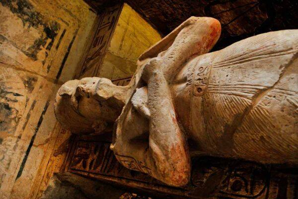 El proceso de momificación del cuerpo humano
