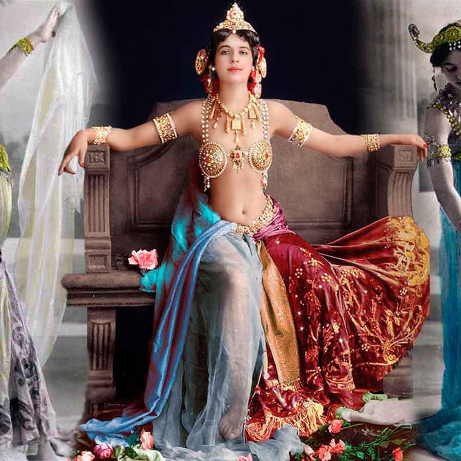 La vida de Mata Hari y su papel como espía durante la I Guerra Mundial