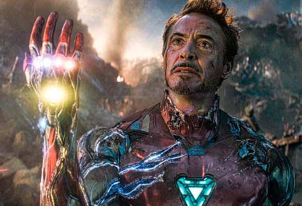 Toni Stark en Avengers Endgame