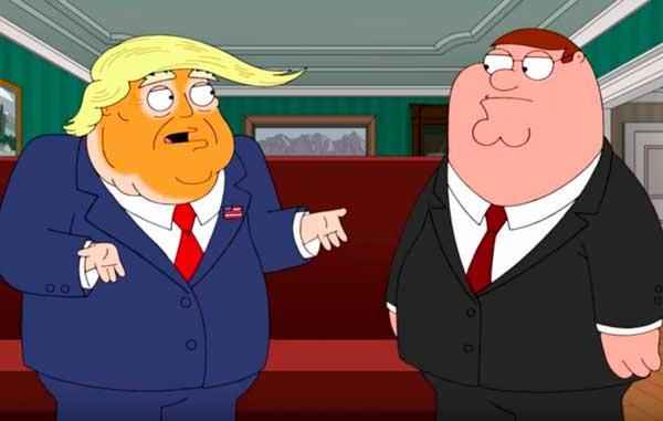 Donald Trump en Padre de Familia