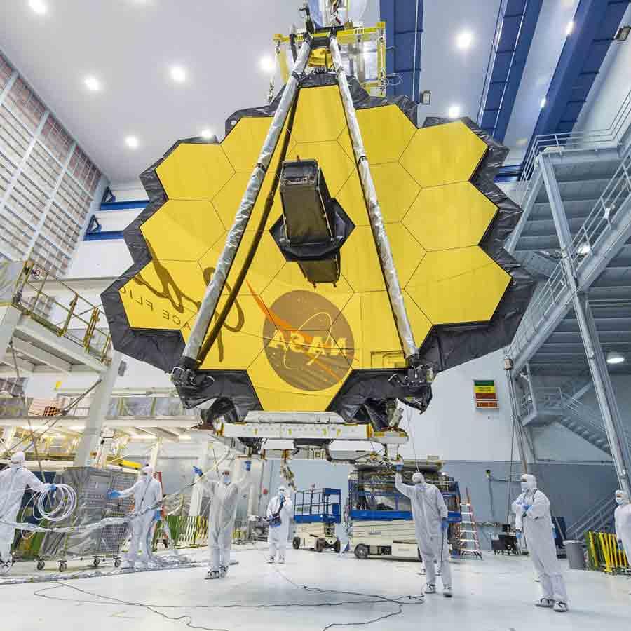 Fotografía del telescopio James Webb