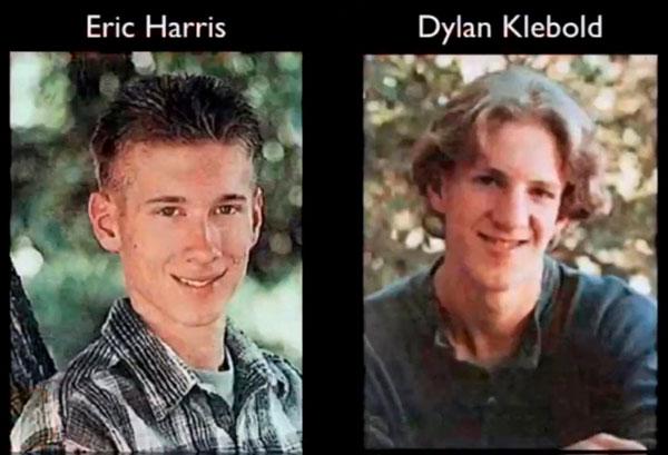 Las fotografías de los asesinos de Columbine