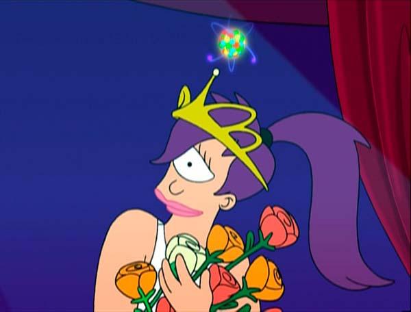 La tiara de Jumbonium de Futurama