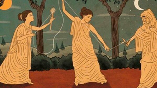 La simbología de las Moiras en la mitología griega