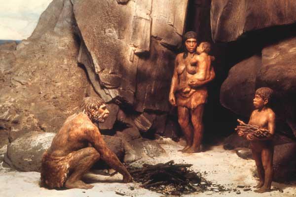 Reproducción del estilo de vida neandertal
