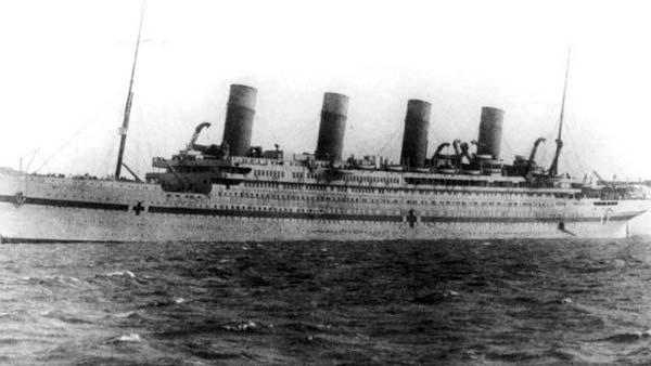 El Britannic en 1914