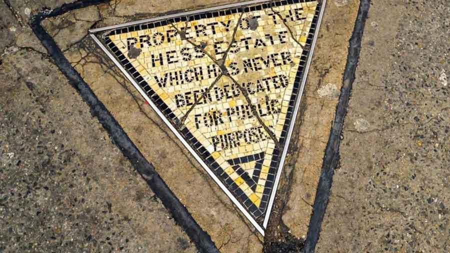 El triángulo de Hess, la propiedad privada más pequeña de Manhattan