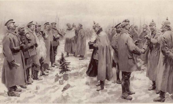La tregua de Navidad de 1914 en plena I Guerra Mundial