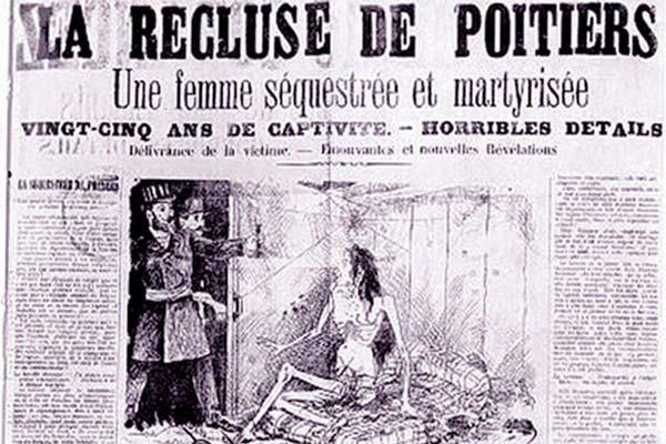 Recorte de prensa de la época describiendo el suceso tras hacerlo público