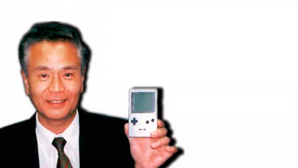 Gunpei Yokoi con su Game & Watch
