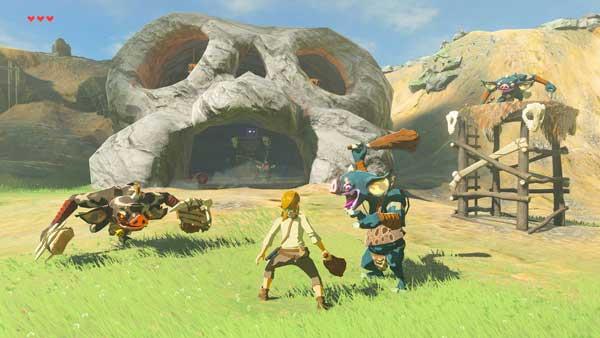 Escena del videojuego