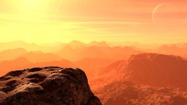 El colosal cañón Melas Chasma de Marte