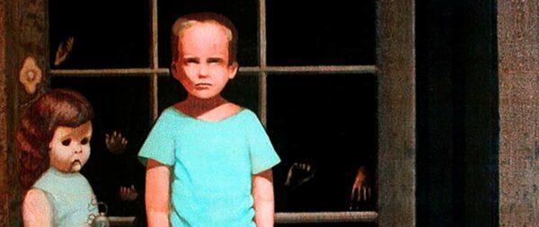 El cuadro The Hands Resist Him, la pintura más embrujada del mundo