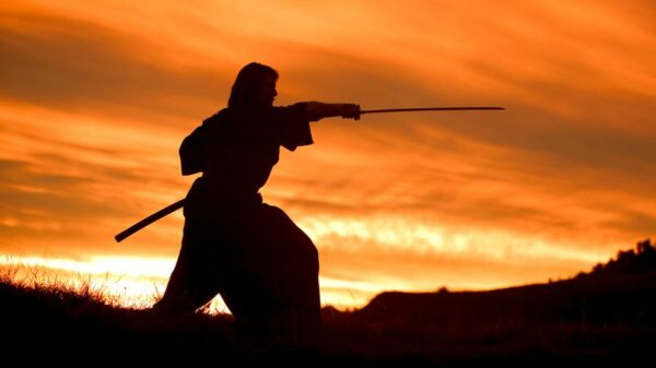 La historia de Jules Brunet, El último samurái