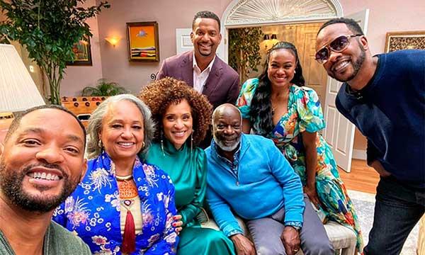 El elenco de El Príncipe de Bel Air reunido tras 24 años