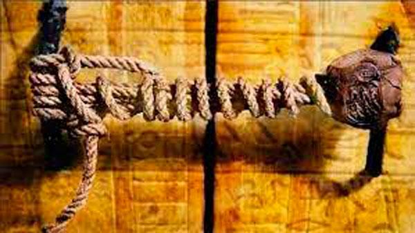 Sello de la puerta de la tumba de Tutankamón