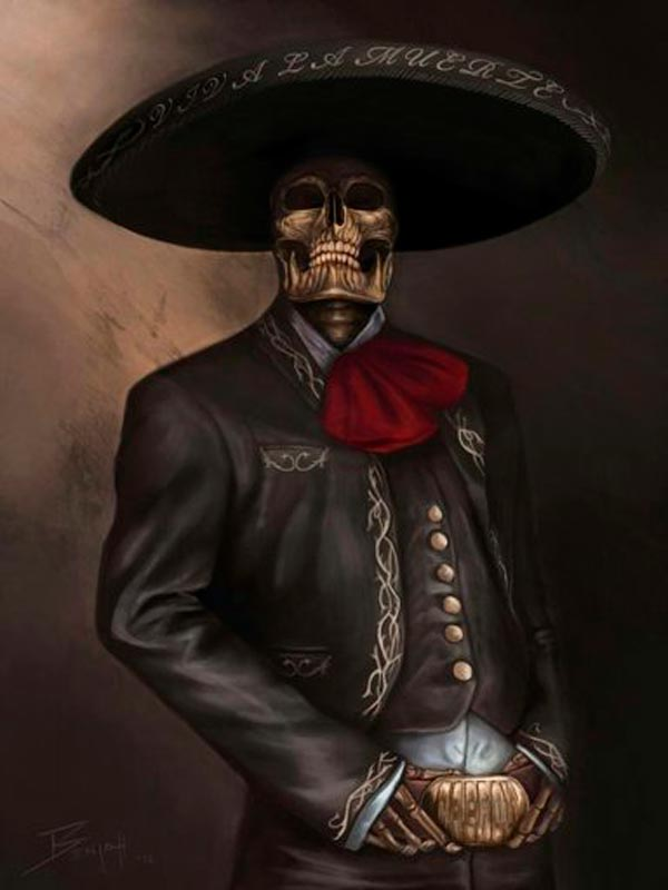 La leyenda mexicana del Charro Negro